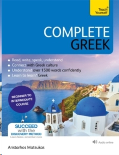Complete Greek (Book + audio online)