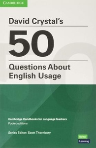 David Crystal s 50 Questions About English Usage