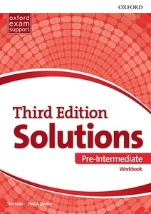 Solutions 3rd Edition Pre-Intermediate. Workbook Pk